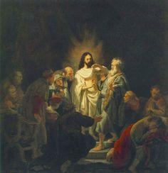 Rembrandt - L'incrédulité de Thomas