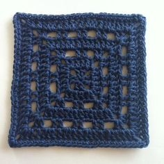 Skipping stitches creates spaces that can be really effective.