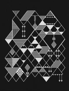 favorite pattern close-up