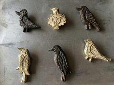 ブローチ 鳥 - 器と暮らしの道具 OLIOLI Naoko Murakami ceramic brooch