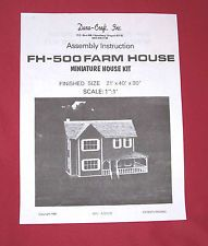 Dura-Craft  *CAMBRIDGE* CA-750  Dollhouse Instructions