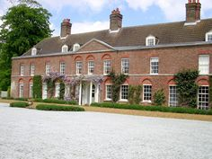 """Vacation """"cottage"""" of William and Catherine, Duke and Duchess of Cambridge. The stunning 10-bedroom Anmer Hall on the Queen's Sandringham estate in England , where Prince William and Catherine are set to make their home."""