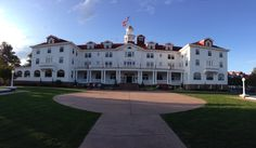 The Stanley Hotel, Estes Park, Colorado. Stephen Kings inspiration for The Shining. Places Around The World, The Places Youll Go, Places To Visit, Around The Worlds, Haunted Places, Haunted Houses, Denver Vacation, The Stanley Hotel, Fort Collins Colorado