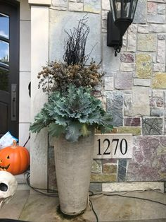 Need some low maintenance garden design ideas? Learn the fundamentals and tips to creating the perfect low mainteance outdoor space in our feature article. Outdoor Christmas Planters, Outdoor Pots, Winter Window Boxes, Eucalyptus Centerpiece, Low Maintenance Garden Design, Sweet Woodruff, Garden Works, Spring Flowering Bulbs, Fall Containers