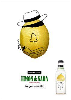 Limon & Nada Advert by Oscar LLorens
