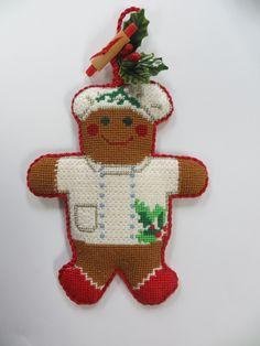 Baker gingerbread man by Joan M.