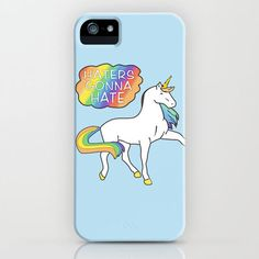 amazingjazzieisnotonfire's save of Haters gonna hate print, of the TShirt Taylor Swift wore iPhone & iPod Case by Taylor Swift Shop on Wanelo