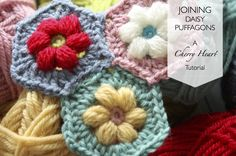 Cherry Heart: Blog: Joining Daisy Puffagons