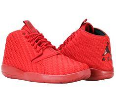 63b1b1c07d6 Nike Air Jordan Eclipse Chukka Gym Red Black Men s Shoes 881453-601 Size 12