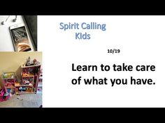 Learn to Care for what You Have 10/19 - YouTube