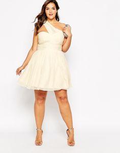 Simples vestidos de novias para gorditas | Moda y Belleza para la boda Civil