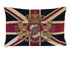 Bit-o-British, Union Jack Cushion.