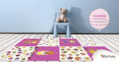 Bu yaz çocuk odaları Gülbeşeker koleksiyonumuz ile rengarenk oluyor. #carpet #collection