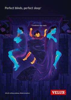 Velux: Perfect sleep, 3 Advertising Agency: Lost Boys, Paris, France