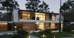 Two Story Modern Home