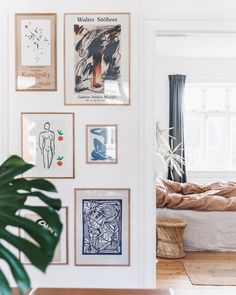 my scandinavian home: 15 Fabulous Danish Spaces That Will Brighten Up Your Day Decor, Dark Blue Walls, Scandinavian Home, My Scandinavian Home, Gallery Wall, Decor Inspiration, Home Decor, Apartment Decor, Home Deco