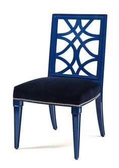 Lace Back Dining Chair designed by Erinn Valencich, contestant on NBC's American Dream Builders hosted by Nate Berkus