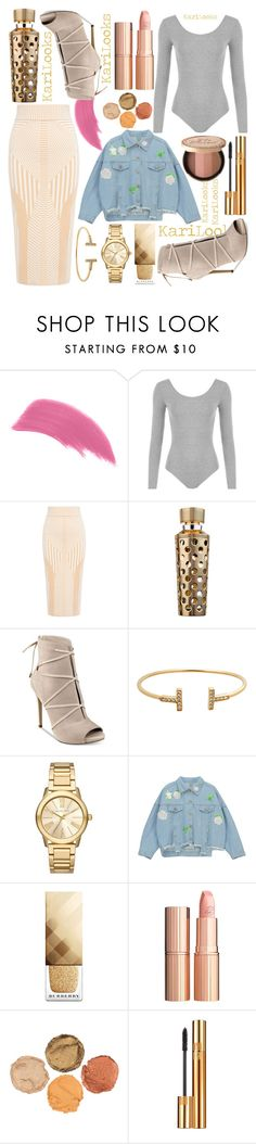 """""""Untitled #139"""" by karilooks ❤ liked on Polyvore featuring WearAll, Finders Keepers, Guerlain, GUESS, Michael Kors, Chicnova Fashion, Burberry, Charlotte Tilbury, Yves Saint Laurent and Too Faced Cosmetics"""