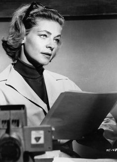 Lauren Bacall in a scene of the 1964 film Shock Treatment