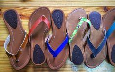 Sandals in diferent colors!