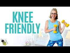 30 Minute KNEE-FRIENDLY Burn + Tone Workout for Women over 50 ⚡️ Pahla B Fitness - YouTube Friends Workout, Workout List, Fun Workouts, At Home Workouts, Free Workout, Workout Routines, Tone Workout For Women, Weights Workout For Women, Push Day