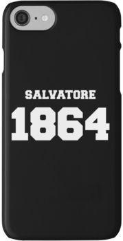 The Vampire Diaries - Salvatore 1864 iPhone 7 Cases