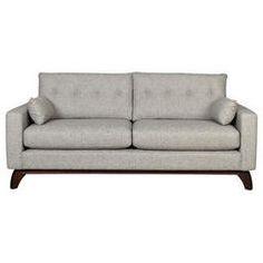Miller Furniture Faster Sofa - Davis Ash