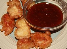 Chicken Nuggets with BBQ Sauce