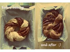 braided chocolate cake