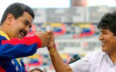 """Bolivia Informa: Maduro afirma que Morales es el """"campeón mundial de la hermandad"""""""