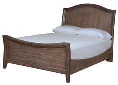 Maine Furniture Direct in Scarborough  Broyhill Furniture Attic Retreat Rustic-Style Queen Sleigh Bed - AHFA - Sleigh Bed Dealer Locator