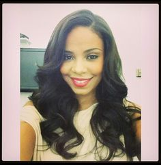 She is beautiful!  Hair Bout' laid too! Lol