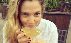Drew Barrymore sin maquillaje without make up