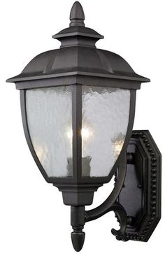 Patriot Lighting  Richfield 1 Light 17 75  Black Outdoor Wall Uplight at  Menards Savannah 1 Light 19  Black Outdoor Post Light Head   For the Home  . Menards Exterior Lighting. Home Design Ideas