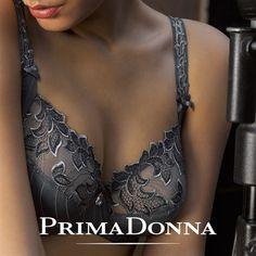 Prima Donna Deauville Full Cup Bra - Winter Grey $138