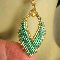 #miyuki#delica#küpe#modeli#yeşil#sarı#takı#tasarım#dizayn#live#star#elemegigoznuru#şık#zarif#