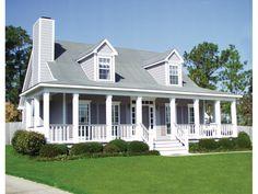 Welcoming Front Porch - plan #024D-0011 | houseplansandmore.com