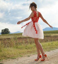 Get this look: http://lb.nu/look/8643585  More looks by Tamara Bellis: http://lb.nu/tamarabellis  Items in this look:  Zara Heels, Sammydress Dress   #chic #elegant #romantic