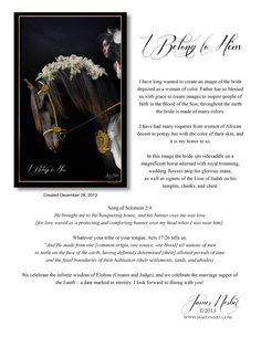 I Belong to Him — Products – Prophetic Art of James Nesbit