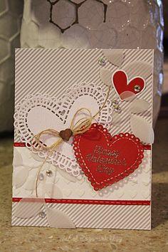 nichol magouirk: SSS January Card Kit | Happy Valentine's Day Card