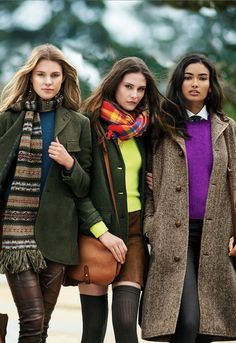 The new heritage: old school classics reimagined for 2015: from tweed and Fair Isle to suede minis and leather skinnies