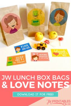 JW Lunch Box Love Notes | JW Printables