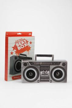 DIY Beat Box Speaker #urbanoutfitters