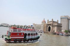 Mumbai .. Enjoy the boat rides to Elephanta Island to see the ancient rock carvings - boats leave from the Gateway of India.