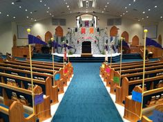Castle - Liberty Baptist Church in Mooresville, NC. armer of god decoration