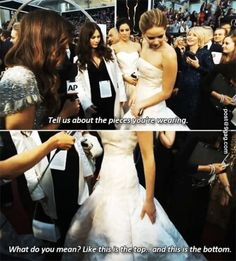 Ha! This is why I love Jennifer Lawrence!