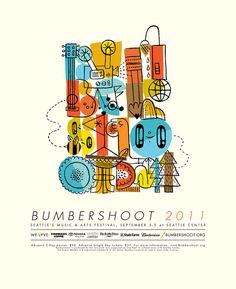 Resultado de imagen para bumbershoot posters