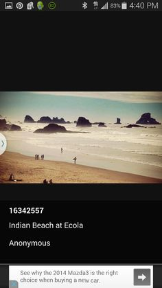 Indian Beach at Ecola State Park, Oregon 10 22 14