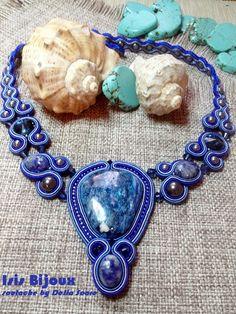 """""""Deep Sea"""" necklace, by Isis Bijoux, Romania"""