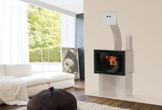 Pellet fireplace insert / 1-sided INPELLET  EDILKAMIN
